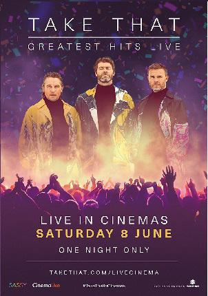 AFICINE LIVE MUSIC! TAKE THAT: GREATEST HITS LIVE