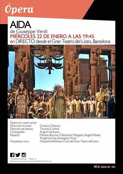 AIDA. GRAN TEATRO DEL LICEO, BARCELONA