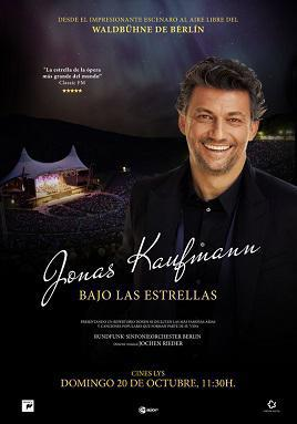 JONAS KAUFMANN BAJO LAS ESTRELLAS