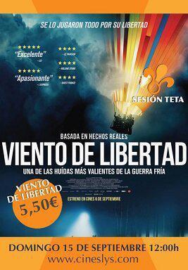 SESIÓN TETA: VIENTO DE LIBERTAD